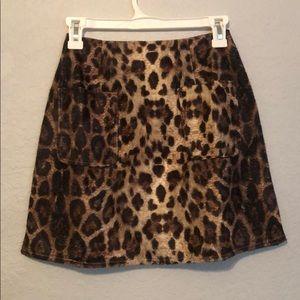 PrettyLittleThing Skirts - Leopard print skirt
